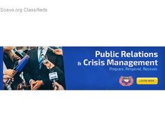 Public Relations & Crisis Management Certification Course in Trinidad
