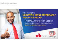 Most Affordable MBA in Trinidad and Tobago at CTS College