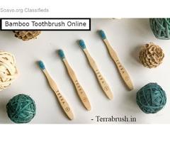 Bamboo toothbrush India - Terrabrush