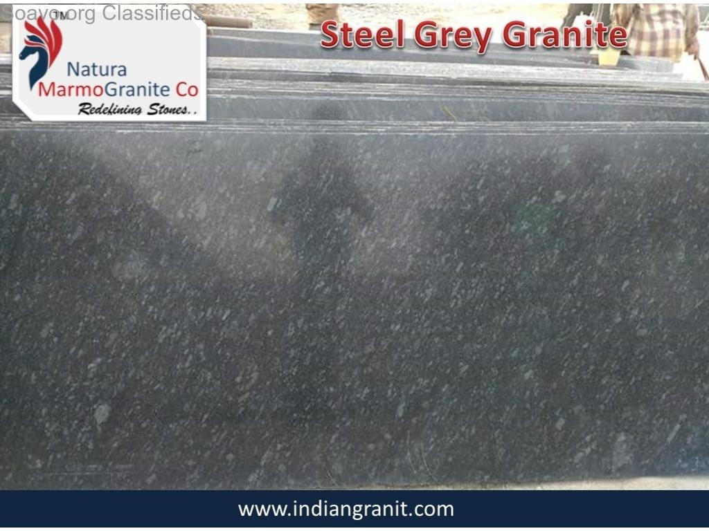 Manufacturer of Steel Grey Granite in India Exporter NMG