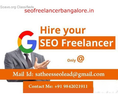 No.1 SEO Freelancer in Bangalore | 12 Yr Exp @ Bangalore City‎