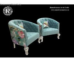 Silver Furniture Sofa Set Designs