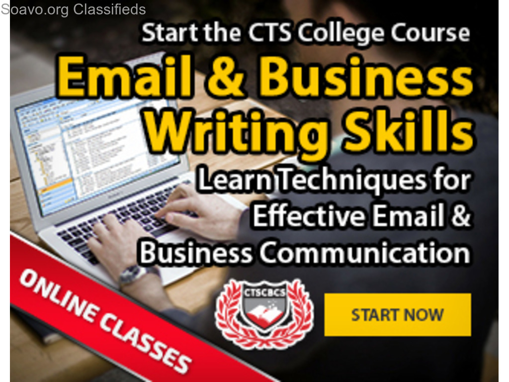 Email & Business Writing Skills Course in Trinidad