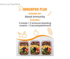 Immunpro Plan Dubai | Immunity Boost Meal Plan Provider in Dubai | UAE
