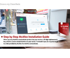 How to download and install mcafee anitivirus software  ?