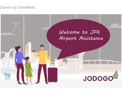 Airport assistance services in JFK Airport - jodogoairportassist.com