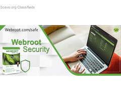 Webroot.com/safe to download Install and Activate