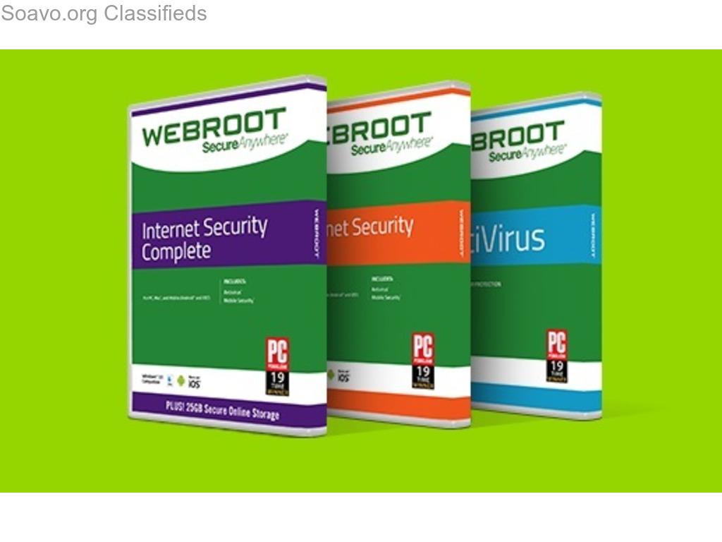 webroot.com/safe - enter webroot key Code