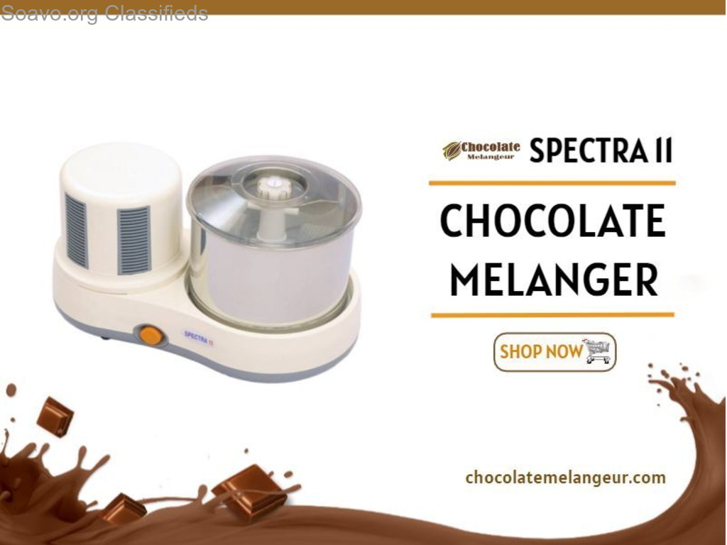 Spectra 11 Chocolate Melanger   Nut Butter Machine   chocolatemelangeur.com