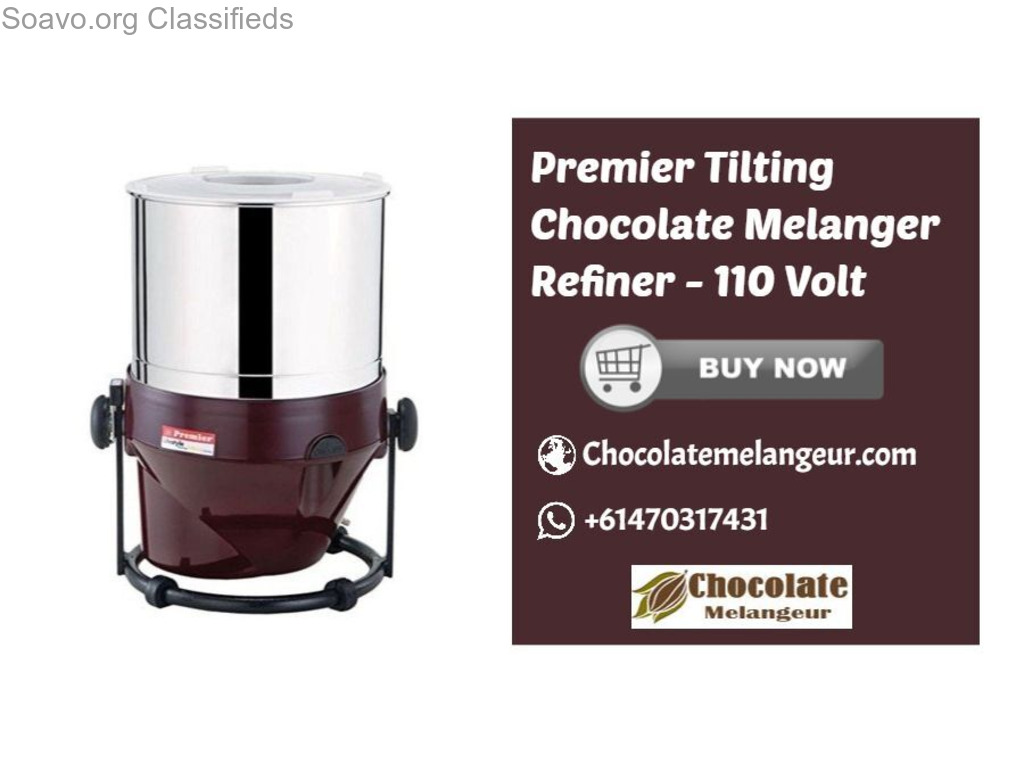 Shop Premier Tilting Chocolate Refiner-  Conching Machine